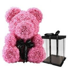 Ροζ αρκουδάκι - 40cm
