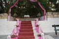 Εξωτερικός διάδρομος σε ροζ με χαλί - 2