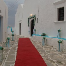 Διάδρομος από κόκκινο χαλί